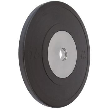 Диск VERTEX Crossfit, черный  15 кг.  - фото 1