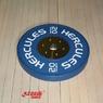 Диск тяжелоатлетический тренировочный «Hercules» NEW, 20 кг   - фото 2