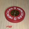 Диск тяжелоатлетический тренировочный «Hercules» NEW, 25 кг   - фото 2