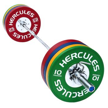 Штанга тренировочная DHS «Hercules» NEW,240 кг  - фото 1