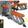 Мультистанция силовая 4-х стековая (для людей с ограниченными физическими возможностями)  OWM 115А - фото 3