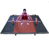 Помост тренировочно-разминочный (В3) DHS Olympic (250х250х4)