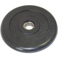 Диск обрезиненный черный BARBELL 5 кг., d31мм
