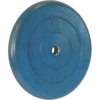 Диск обрезиненный цветной BARBELL 20 кг., d26мм