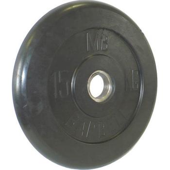 Диск обрезиненный черный BARBELL 15 кг., d51мм  - фото 1