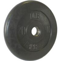 Диск обрезиненный черный BARBELL 20 кг., d51мм