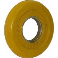 Диск обрезиненный цветной BARBELL 1,25 кг., d51мм