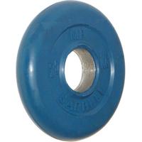 Диск обрезиненный цветной BARBELL 2,5 кг., d51мм