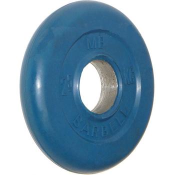Диск обрезиненный цветной BARBELL 2,5 кг., d51мм  - фото 1