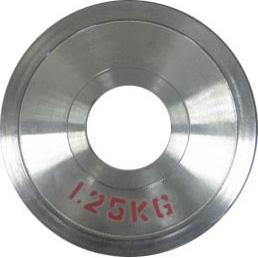 Диск стальной 1,25 кг DHS для пауэрлифтинга  - фото 1