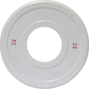 Диск стальной 0,5 кг DHS для пауэрлифтинга  - фото 1