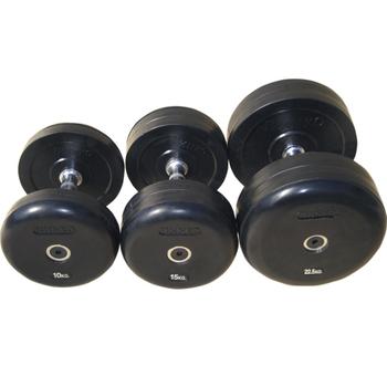 Гантель фиксированная,обрезиненная  50 кг. (75074-50) - фото 1