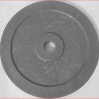 Диск технический 5 кг., красный, серый (d 450 мм)