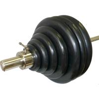 Штанга тренировочная 178,5 кг (МВ) черная