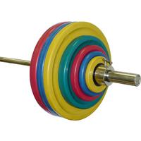 Штанга тренировочная 182,5 кг (МВ) цветная.
